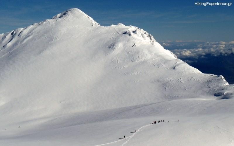 Στη βάση του κώνου της κορυφής