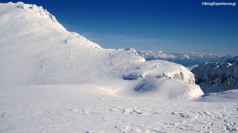 Ανάβαση προς την ψηλότερη κορυφή του Παρνασσού