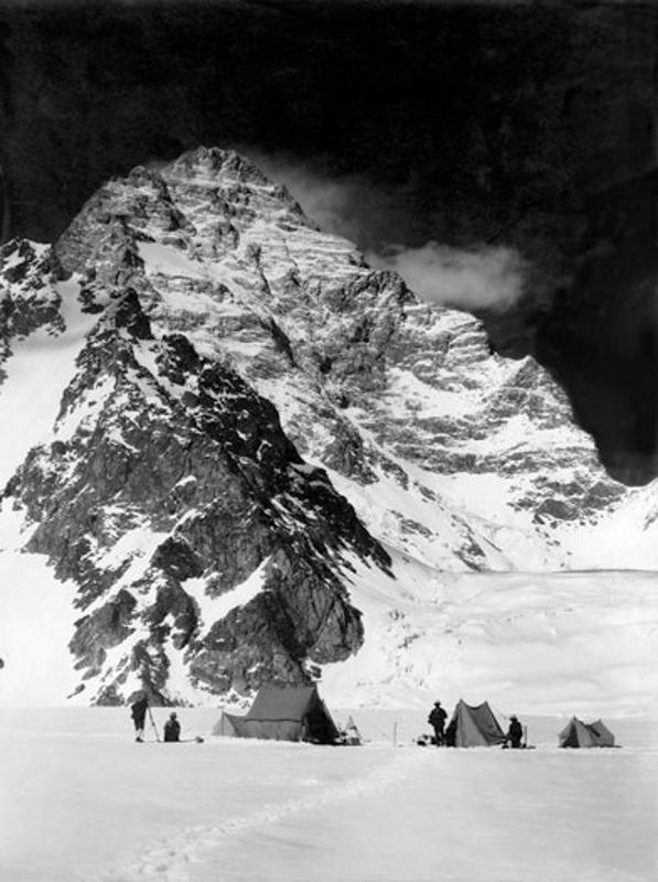Camp below the West Face of K2, Karakoram, June 1909