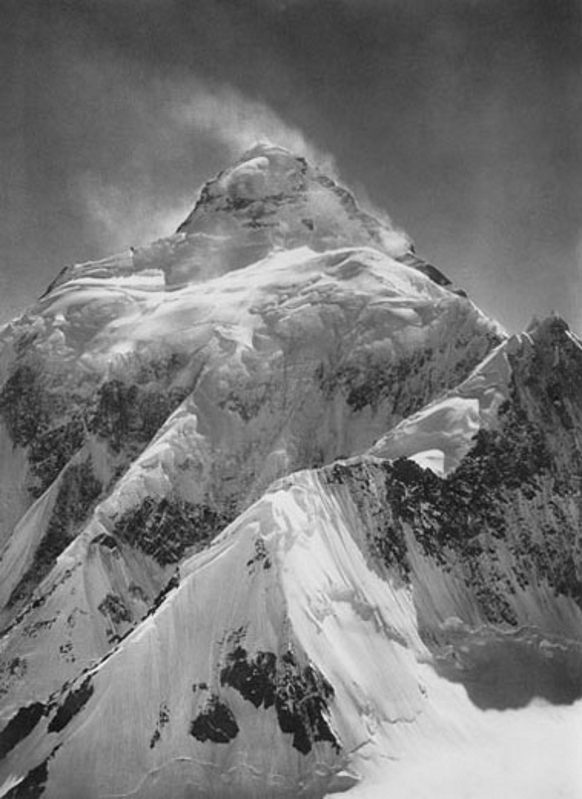 K2 from the Southern Ridge of Staircase Peak, 1909