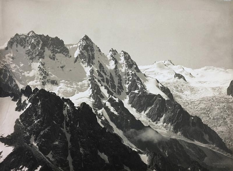 Karagan Glacier, Russia, 1909