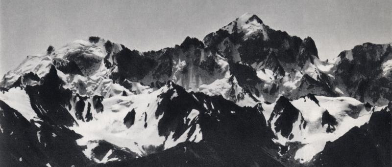 Kochtan Tau 5145m, north side, Caucase