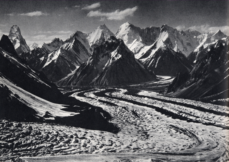 Mustagh tower 7273m, Baltoro glacier, Karakoram, 1909